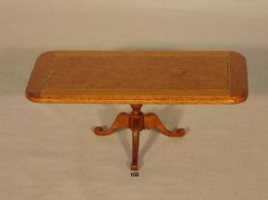 166a. Small Inlay Dining Table
